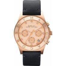 Marc By Marc Jacobs Women's Mbm1188 Henry Rose Gold Chronograph Quartz Watch
