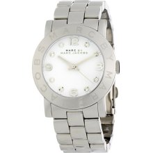 Marc Jacobs Amy Mbm3054 Ladies Stainless Steel Case Mineral Watch