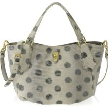 Marc Jacobs Embo Lizzie Spotless Tote In Orcha Black Multi