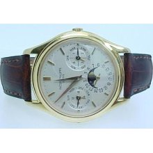 Mens 18k Patek Philippe 3940 J Perpetual Calendar Watch