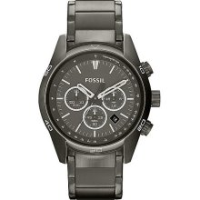 Men's fossil wallace chronograph steel watch ch2840
