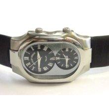 Mens Philip Stein Teslar Signature Series Black Watch