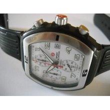 Michele Sport Chronograph, Rubber Strap 71-197-a -excellent Condition
