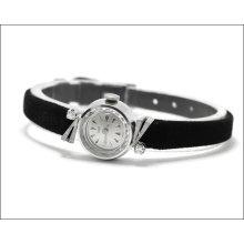Minty Vintage Ladies Rolex - Tudor Solid 18k White Gold Watch - All Original