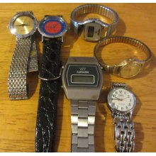 Mixture of Wrist Watch Lot Jewelry