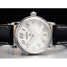 Montblanc watch Star Large NEW 7249 stainless steel watch sale buy