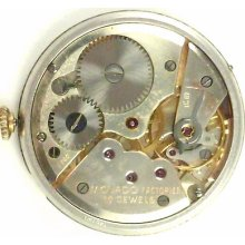 Movado 125 Complete Running Wristwatch Movement - Spare Parts / Repair