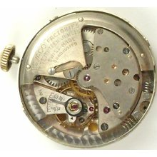 Movado Automatic 221 - Complete Running Watch Movement -sold 4 Parts