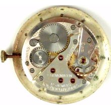 Movado Caliber 205 - Complete Running Wristwatch Movement
