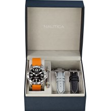 Nautica BFD 101 Diver Watch Box Set