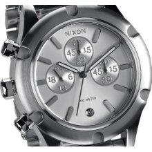 Nixon Camden Chronograph Stainless Steel Womens Watch A354130 A354 130