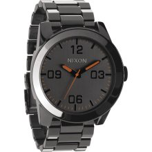Nixon The Corporal Ss Watch Steel Gray One Size For Men 19934414301