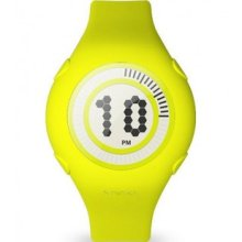 Nooka Karim Rashid Yogurt Lime Watch