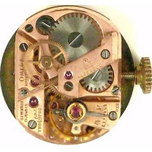 Omega 252 Complete Running Wristwatch Movement - Spare Parts / Repair
