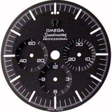 Omega Black Dial For Speedmaster Cal.321 Ck 2915 2998 105.002 105.003 Usa