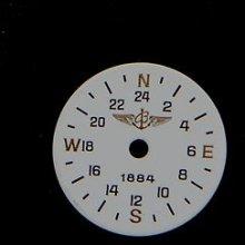 Original Vintage Breitling Utc 1884 Puw 211 Caliber Dial Men's