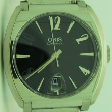 Oris Frank Sinatra Men Black Automatic Stainless Steel Watch 733-7570-4064rs