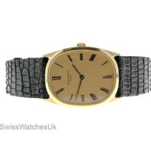 Patek Philippe 18k Gold Mechanical Vintage Watch