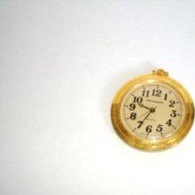 Pocket Watch / Milan Quartz / Gold Toned / Japan Movt / Vintage