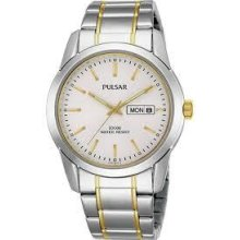 Pulsar By Seiko Gent's Bracelet Watch Pj6023x1..new