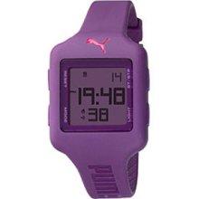 Puma Slide Chrono Digital Purple Dial Women's watch