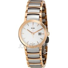 Rado Centrix Rose Gold-tone Ladies Watch R30555103 ...