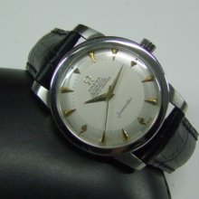 Rare 60's Omega Chronometer Silver Dial Cal:354 Auto Man's