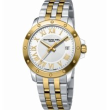 Raymond Weil Watch, Mens Tango Two Tone Stainless Steel Bracelet 5599-