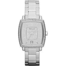 Relic Montclare Stainless Steel Crystal Watch - Zr34221 - Women