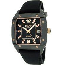 Roberto Bianci Persida Unisex Ceramic Watch Blk Rs