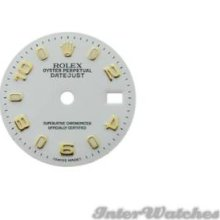 Rolex Dials White Color Ladies 26mm & Hands
