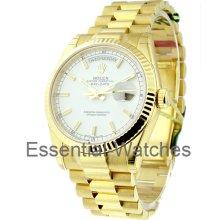 Rolex Men's Yellow Gold President 118238