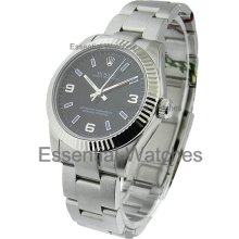 Rolex Mid Size No Date with Oyster Bracelet 177234