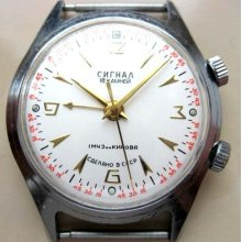 Russian Watch Alarm 1 Mwf Kirov Poljot Made In Ussr
