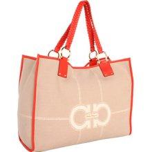 Salvatore Ferragamo Kaitlin Tote Handbags : One Size