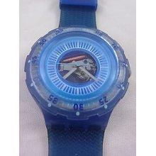 Sdl100 Swatch - 1997 Scuba Altamarea Hands Glow Blue
