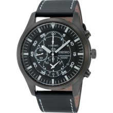 Seiko Military Chronograph Gents Watch Snda21p1 - Rrp £195 -