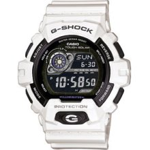 Shock Gr8900a-7 White Resin With Black Dial Gr8900 Series