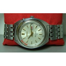 Silver Dial Vintage Seiko Bellmatic Alarm Automatic Day Date 103310 Used Watch