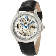 Stuhrling Original Men's 167.33152 Classic Automatic Skeleton Silvertone Watch