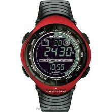 Suunto Mens Vector Red Altimeter Barometer Compass Weather SS011516400