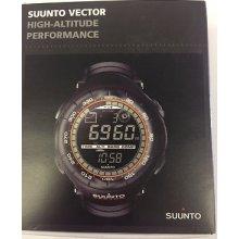 Suunto Watch Ss012279110 Men's Digital Vector Xblack Multi-function Black
