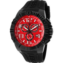 Swiss Legend Super Shield Men's Chronograph Date Rrp $750 Watch 40118-bb-05