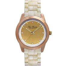 Ted Baker 3-Hand Horn Bracelet Women's watch #TE4082