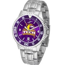 Tennessee Tech Golden Eagles Competitor AnoChrome Steel Band Watch