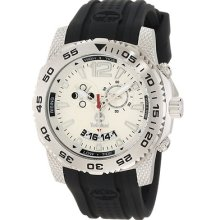Timberland Men's 'Hydroclimb' Black/ Silver Moon/ Tide Phase Watch (13319JS/04)