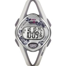 Timex 50 Lap Floral Sleek Midsize Cream T5k377
