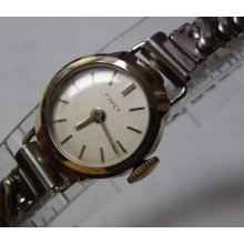 Timex Ladies Two Tone Gold Watch