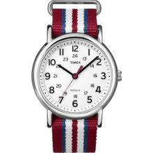Timex T2n746 Style Weekender Three Tone Watch Rrp £47