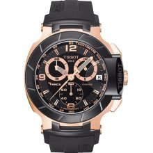 Tissot T-Race Rose Gold Chronograph Men's Watch T0484172705706